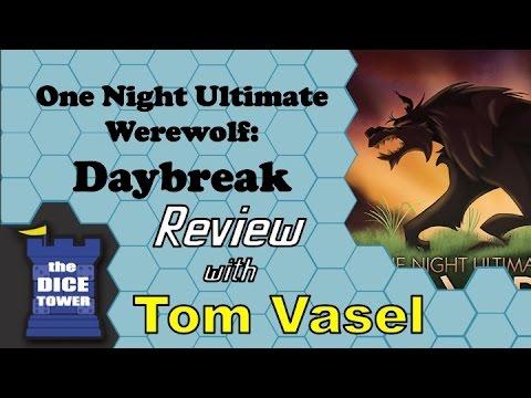 Dice Tower Reviews: One Night Ultimate Werewolf: Daybreak