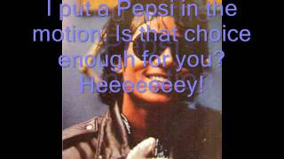Michael Jackson- Pepsi Generation (With Lyrics)
