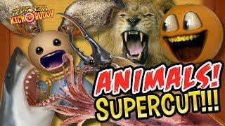 Kick the Buddy: ANIMALS Supercut!!