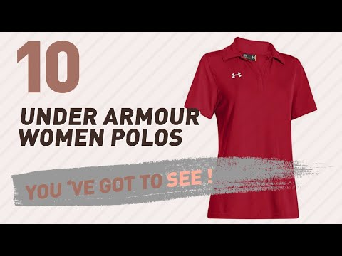 Under Armour Women Polos // New & Popular 2017