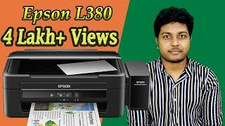 Epson L380 Printer Review   Print Test   Xerox   Scan   Overview