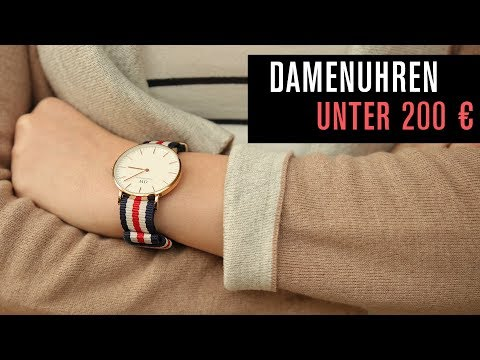 Geschenktipp: Damenuhren unter 200 € - ein paar Empfehlungen von Nadine!