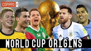 World Cup Origins: How Messi, Ronaldo And Chicharito Became Stars