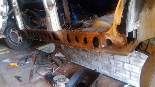 Замена порога и арки крыла, и о качестве ремонтных панелей