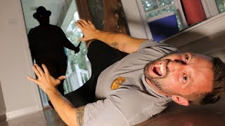 PSYCHO BREAKS INTO OUR HOUSE!