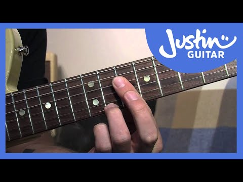How to Play Dominant 7th Chord Grips - Blues Rhythm Guitar Lessons [BL-205]