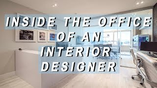 Office Tour + Vlog - Inside The Office Of An Interior Designer!