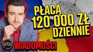 Ta polska firma POMAGA UKRAIŃCOM! Aż 120 tys. zł dziennie | WIADOMOŚCI