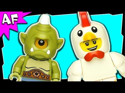 Vidéo LEGO Minifigures 71000 : Série 9