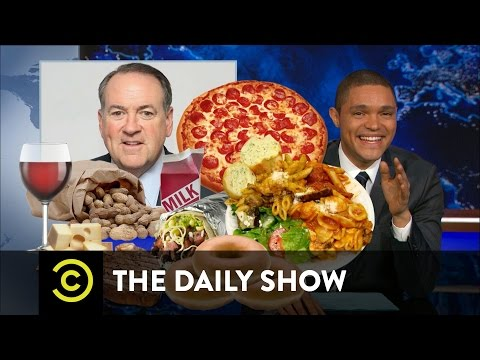 Mike Huckabee's Food-Based Politics: The Daily Show