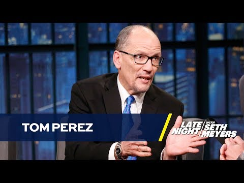 DNC Chair Tom Perez Critiques the GOP's