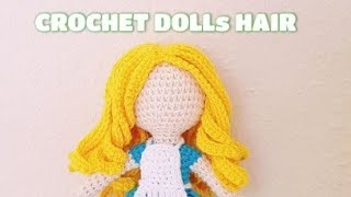 CROCHET DOLLs HAIR #2