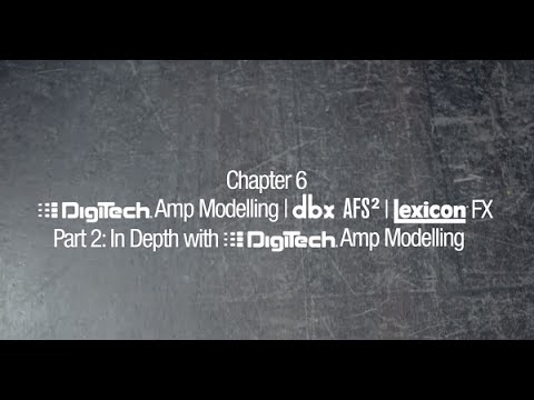 Soundcraft Ui Series Tutorial Chapter 6 Part 2: In-depth with DigiTech® Amp Modelling