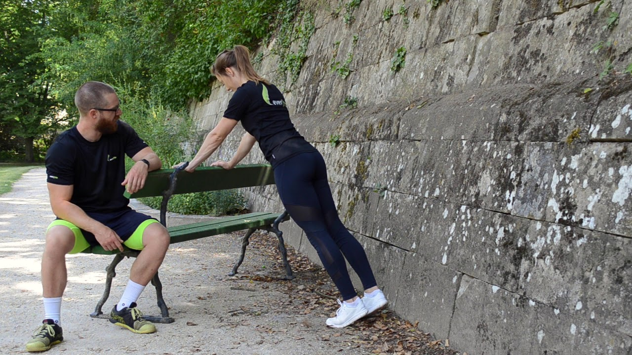 In 5 Schritten zum Liegestütz (push up)
