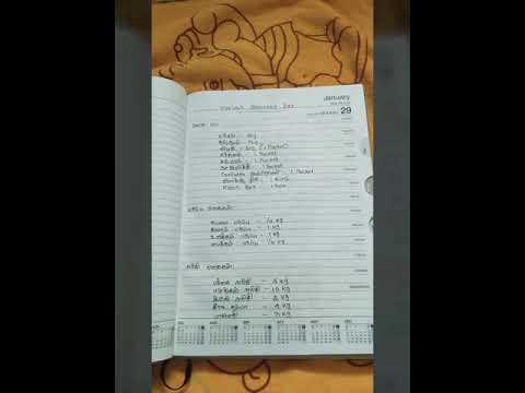 Monthly Grocery List For 2 Person( Beginners and Bachelors)in Tamil