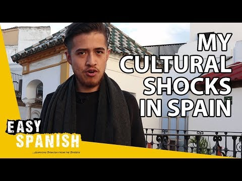 MEXICAN IN SPAIN: My 5 cultural shocks 🇪🇸 | Easy Spanish 124