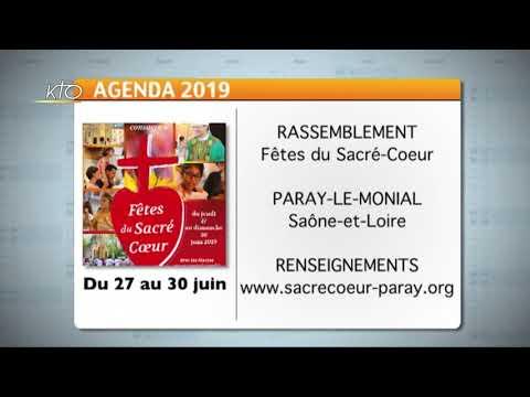 Agenda du 17 juin 2019