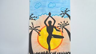 yoga day poster world international yoga day poster making competition