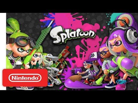 Видео № 0 из игры Splatoon (Б/У) [Wii U]
