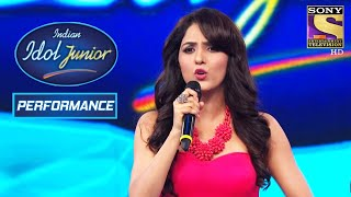 Neeti Mohan Rocks The Stage With Her Fabulous Singing | Indian Idol Junior 2
