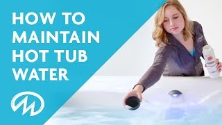 How to Maintain Your Hot Tub Water