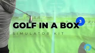 Golf In a Box 3-video