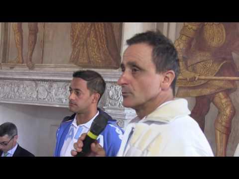 Preview video Parella: Presso il Castello la presentazione della Nazionale Italiana di Canoa Slalom