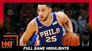 Philadelphia 76ers vs Detroit Pistons Full Game Highlights / Week 2 / 2017 NBA Season (Sixers Get Fi