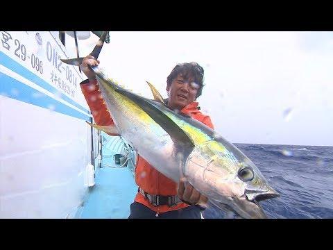 【釣り百景】#297 大型魚、怒涛の乱舞!宮古島の泳がせ釣り
