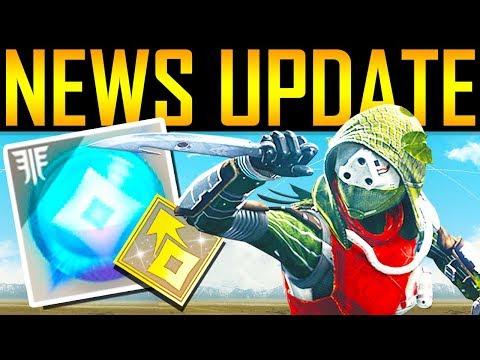 Destiny 2 - IMPORTANT NEWS UPDATE! Big Changes!