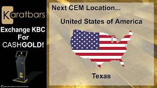 Karatbars Cash Exchange Machines Gold ATM North America With James Possible