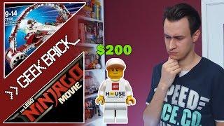 #GeekBrick Минифигурка за $200, Новый набор LEGO STAR WARS