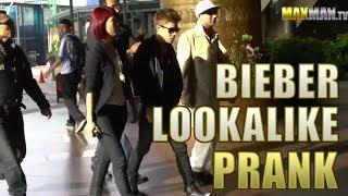 Justin Bieber Lookalike Mall Prank Asian Edition By Maxmantv