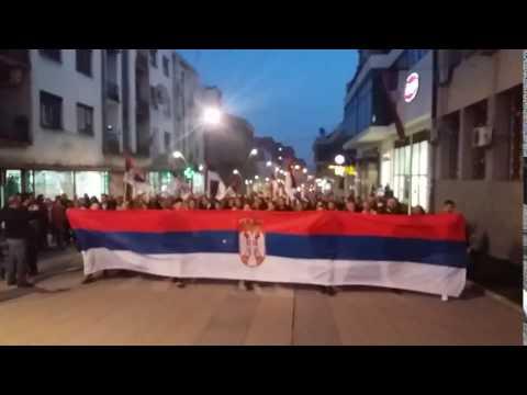 Janković uz pištaljke i bubnjeve dočekan u Vranju