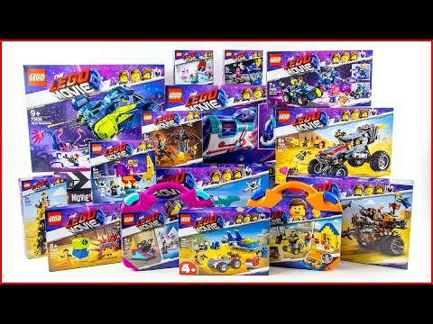 ALL LEGO MOVIE 2 COMPILATION 2019 Unboxing Speed Build