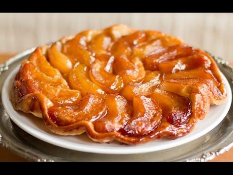 Карамельный яблочный пирог// невероятно вкусно