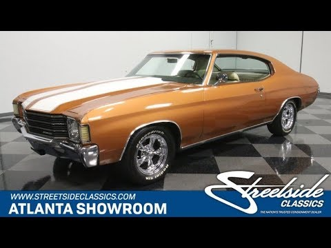 Video of 1972 Chevrolet Chevelle Offered by Streetside Classics - Atlanta - Q10H