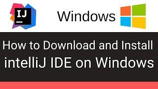 How Download & Install intelliJ Idea on Windows
