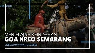 VIDEO TRAVEL | Menjelajah Keindahan Goa Kreo Semarang, Bisa Lihat Monyet Liar