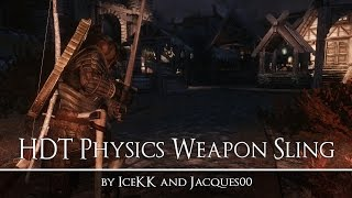 HDT Physics Weapon Sling - The Elder Scrolls V Skyrim - Mod Spotlight