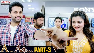 A AA Hindi Dubbed Movie Part 3 | Nithiin, Samantha, Anupama Parameshwaran | Trivikram - Download this Video in MP3, M4A, WEBM, MP4, 3GP