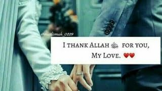 Muslim Couple Quotes || Whatsapp Status Video