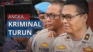 Angka Kriminalitas di Indonesia Turun 1,43 Persen Sejak Ada kebijakan WFH dari Pemeritah
