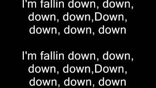 Chris Brown - Fallin Down with lyrics