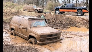 $1,500 Blazer is DOWN! FLOODED in the Mud Pit that Killed the F450... (MISTAKES WERE MADE)