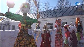 Самое красивое чучело Масленицы в Великом Новгороде выберут туристы