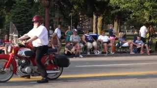 preview picture of video 'Zem Zem at LibertyFest Parade, Franklin, Pennsylvania, 2014 June 28'