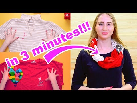 How To Make New Beautiful Accessories From Old Clothes? Magic Diy Transformation from A+ hacks!