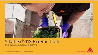 instructievideo Sikaflex Extreme Grab -118 290ml
