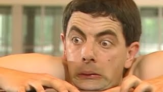 Bean's Cliff Hangers   Funny Clips   Mr Bean Official
